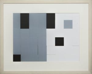 Dutch design art print Black White Grey 8